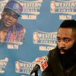 . @lilbthebasedgod Predicted FULL Curse Would Hit Harden in Game 3 http://t.co/RcAmf4caaJ http://t.co/7zsxKgi6iI