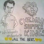 ????????All The Best Lions???????? #CSK #CSK ????????#whistlepodu #RoarForCSK???????? #IPLFinal http://t.co/jUiDGYLZEr