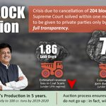From Coal-Gate to Revenue-Gain #ScamMuktBharat http://t.co/B5B4Rl0JZY