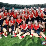 Congratulations to @melbournefc for the win. Final score: Melb 4.13.37 d @westernbulldogs 4.5.29 #AFLWomensGame http://t.co/pIFRRD1XwT
