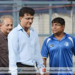Excusive Pics : Sourav Ganguly at Eden Gardens ahead of the #IPL Final http://t.co/OORTRhGuEu http://t.co/XP1uFlaHCy