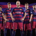 OFFICIEL ! Le nouveau maillot domicile du FC Barcelone ! http://t.co/uVXO7611pr