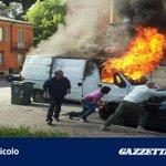 """@gazzettaparma: Furgone in fiamme in piazzale Matteotti  -  #Parma  http://t.co/YT56ocQXK5 http://t.co/CCsRm11NUT"""