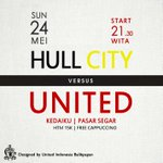 RT @UtdIndonesiaBPP: Tonight! Hull v Man United. Start 21.30 di @KedaiKuBpp  Join us! @KotaBalikpapan http://t.co/kZa3byYyf6