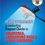 Frequent checks in hospitals, transport buses and bus stations. #100DaysOfGovernance http://t.co/duJ5SBblk7