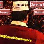 No Arrogance No Incompetence Serving Delhi With Full Confidence #100DaysOfGovernance http://t.co/w1eXjtCKzv