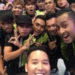 Wefie bareng dance crew #TheDanceIcon indonesia @SCTV_ seruuu!!! ;) http://t.co/uN3C0ARzvU