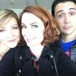 Hanging with the Mass Effect crew: @Mark_Meer and @missalihillis #MCMexpo