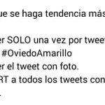 RT RT RT A partir de las 12:00 hagamos TT #OviedoAmarillo http://t.co/mDEYD9dS0O