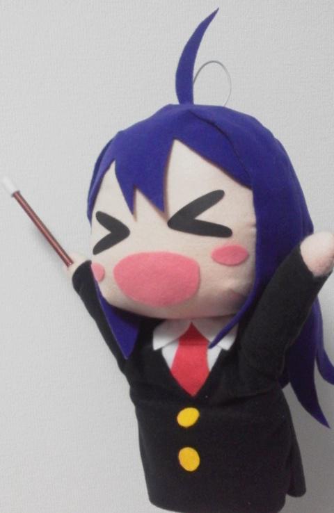 お天気お姉さん杏奈パペット試作型完成 http://t.co/ZPGtRUVDQ4