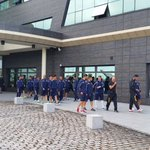 Paseo del @Cadiz_CF antes del almuerzo y la última charla de Claudio http://t.co/T0zlJ8Zaqw