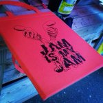 Design 2 on Print Your Own Totes #ArtCarBootique is by Printhaus resident @uhohwatson: Jam is my Jam! See you soon! http://t.co/ieZhNryVJe