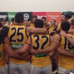 Always good to belt out the team song on the road #gotiges #AFLPowerTigers http://t.co/0I9yngXxIW
