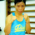 RT @MangteC: Started my training in Vesoma Training Centre. Thank you Olympic Gold Quest, teams for marvellous arrangement. http://t.co/WDE…