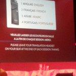 Les conférences du #TEDxAbidjan seront faites en Anglais, français, arabe et portugais. @TEDxAbidjan @AfDB_Group http://t.co/dl0CME6ndS