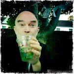 What fun at @chaptertweets ArtyFartyCarBootySale drinking @milgi Mint, Hibiscus & Elderflower Juleps! http://t.co/oz8bfwzKU6
