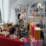 All set up at #artcarbootique @chaptertweets Great stalls great music great vibes! http://t.co/CFLY2l25o9
