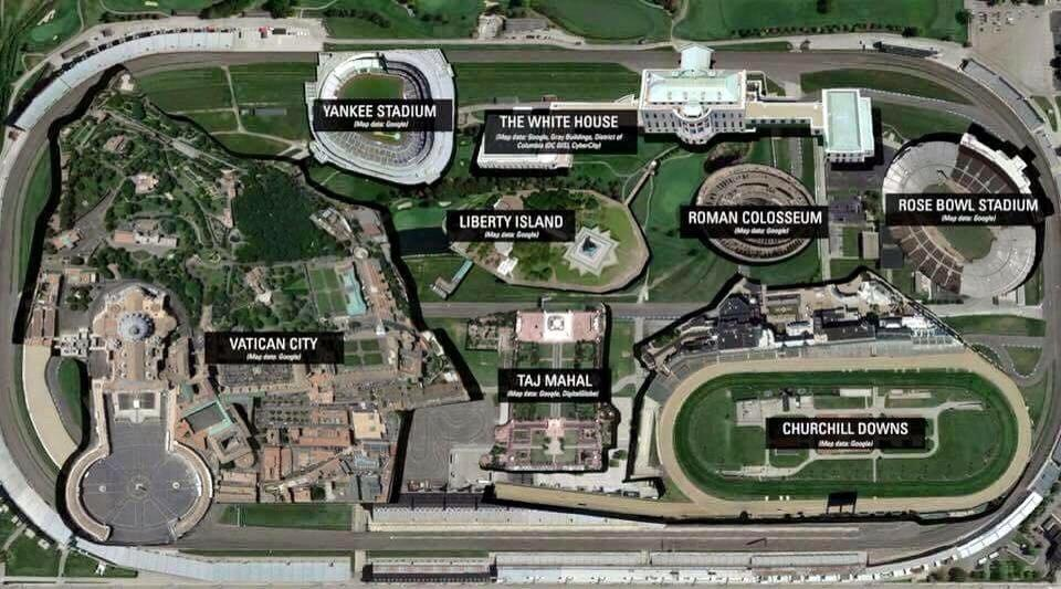 Just how big is the Indianapolis Motor Speedway? It's big! @IMS #Indy500 http://t.co/opLbmSySqJ