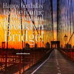 Happy birthday Brooklyn Bridge! It opened on May 24,1883! RT for a chance to win one of our t-shirts! #Brooklyn http://t.co/vikgPKOdut