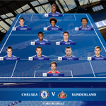 Heres how the Blues are set to line up this afternoon... #alltheway http://t.co/11jHKJtUcJ
