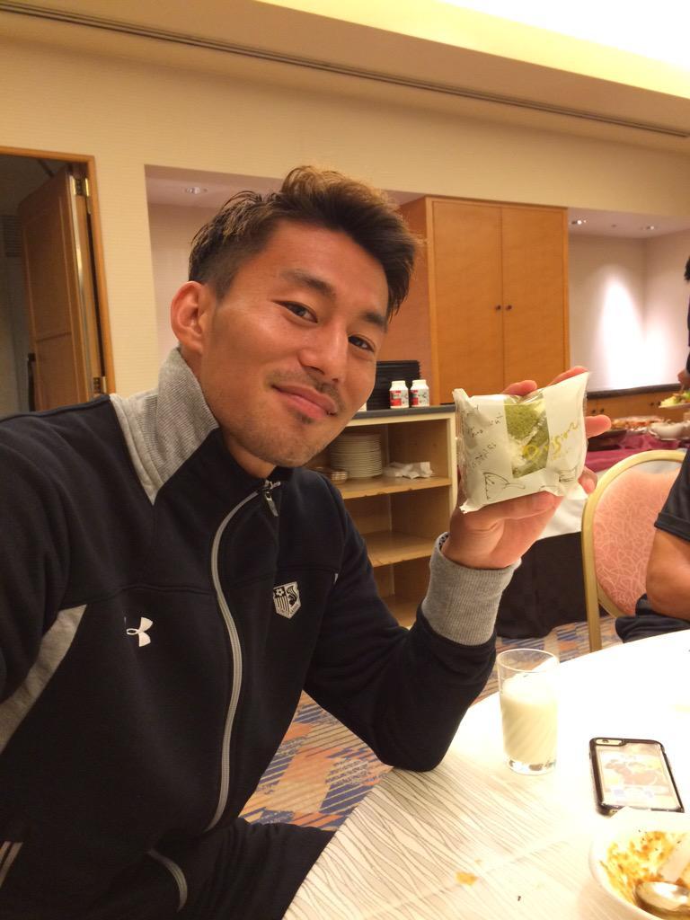 京子ちゃんから差し入れいただきました! http://t.co/qNVfMgRqXG