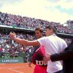 ICYMI, the Federer selfie incident (video) http://t.co/CLllx79PiB http://t.co/khxMpBdFeB