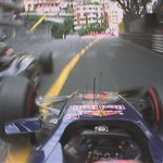 """LAP 64/78: Verstappen slams into the barrier at high speed. """"Im OK,"""" he says. Safety car comes out #MonacoGP http://t.co/2JVqfOTgd0"""