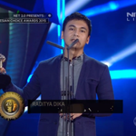 Woow! @radityadika wins Digital Persona of The Year at Indonesian Choice Awards #NET2Anniversary http://t.co/W8yZDVHX9G