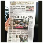 Thanks for the love in the paper this morning Kansas! Were ready to go racing here at Heartland Park. Happy RaceDay! http://t.co/XPbPDjCGu7