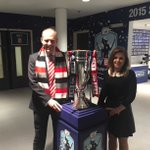 Just checking they have red ribbons to hand... Would look very nice at the County Ground #PlayOffFinal #COYR http://t.co/TPDBjTbwgQ