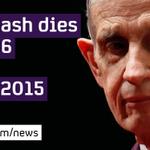 Beautiful Mind mathematician John Nash killed in car crash with wife, US media reports #c4news http://t.co/BK7zT50SJl