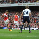 ...and then @JackWilshere marks his 100th @premierleague appearance with a rocket! #AFCvWBA http://t.co/yD94WtjYkV