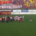 Se suspendió el partido entre @clubbocaunidos y Atlético Paraná por el evento de Cristian Gómez. http://t.co/lCM6q7Zumr