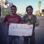 والله ليس دعاية ، بصدق فخور بشخصية صلاح المعروف بنقده بخفة دمه وبمبادرته اللي تدل علي انه إنسان امَطعْم :) #ليبيا . http://t.co/GeKP4Va1Xc