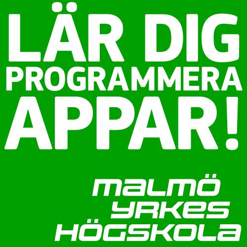 ★ ★ ★ Sista chansen söka till vår ettåriga apputbildning i Malmö. Tipsa dina vänner!  http://t.co/pB7wHihrm1 http://t.co/pPc7wHNE7R