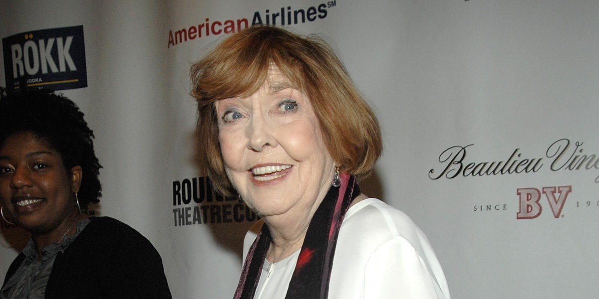JUST IN: Actress, comedian Anne Meara, mother of Ben Stiller, dies at 85. More to come.