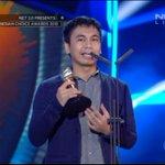 Terimakasih yg udah dukung di Indonesian Choice Award NET 2.0. Marmut Merah Jambu terpilih jd movie of the year! http://t.co/Fxsc2bCTjO