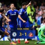 HASIL AKHIR: Chelsea 3-1 Sunderland! #SAPUBERSIH http://t.co/GfwHiCtyGi