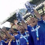 John Terry has played every minute of every game this season, and lifts the Premier League trophy for #CFC. http://t.co/uvLt9ybItw