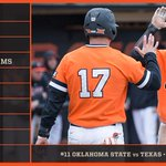 Its Orange Crush Sunday at the #Big12BSB Championship! Cowboys vs Texas at noon. Heres the #okstate lineup http://t.co/aAhcKTNIU3