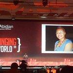 Notre 5eme speaker EDWIGE-RENEE DRO fait son entrée au @TEDxAbidjan http://t.co/b9Le6dZSwS
