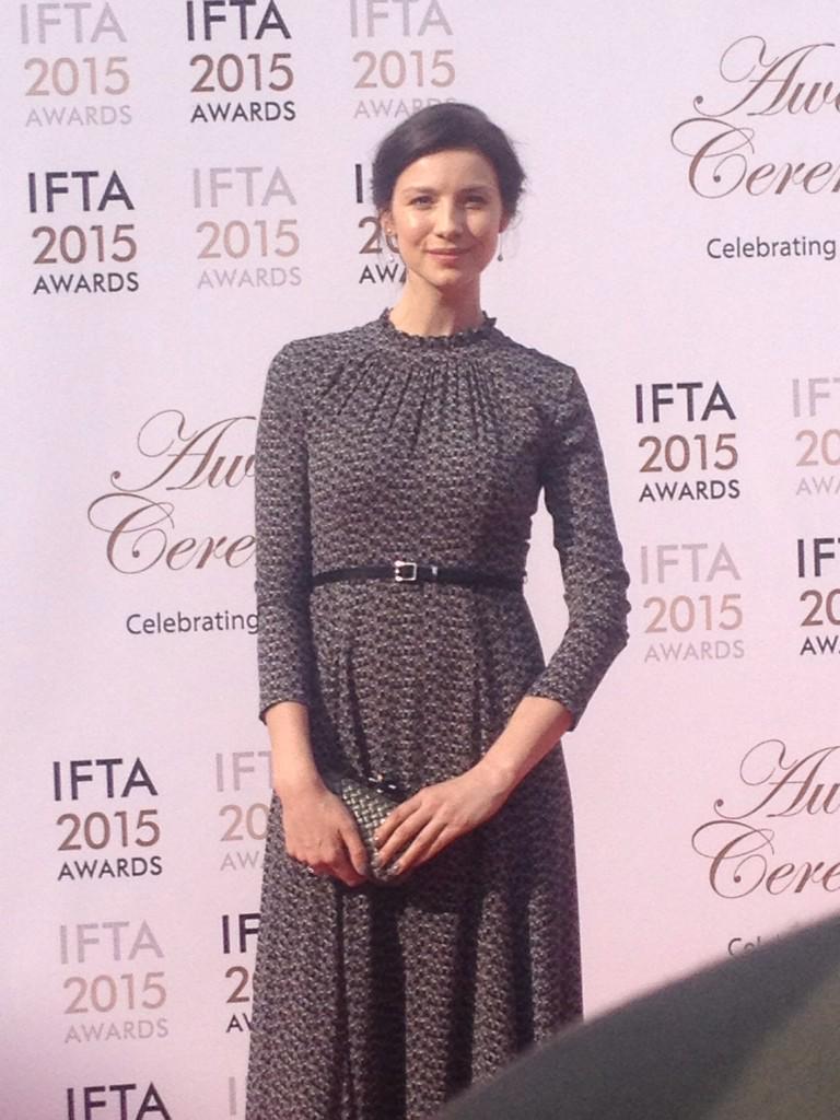 #IFTA15 nominee in two categories Actress Caitriona Balfe #awards #drama #film #irishtalent http://t.co/fi5pFkQkw2