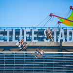 Soaring through sunny skies at #EDCNY. ✨ ✈️ http://t.co/1SJAyCtZ2j