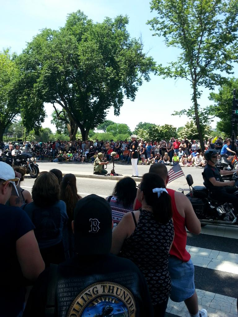 #RollingThunder2015 Washington DC #TheMarine http://t.co/uIqMaQW5oE