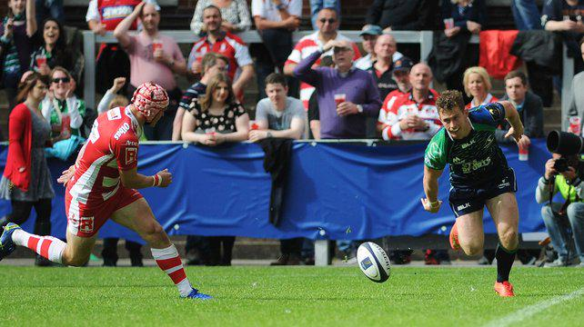 RT @IrishRugbySupp: Unlucky lads, a great effort. Gloucester Rugby narrowly edge Connacht in the Champions Cup playoff. - #IrishRugby http://t.co/SHm7xa5Dm0
