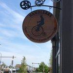 Awesome new sign installed @HandleBarPub - 149 Swan. #Buffalo #Bike http://t.co/XmaSS5eqpu