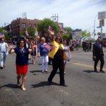 Marching in #MemorialDay Parade in #Maspeth. @TishJames @ElizCrowleyNYC Margaret Markey Joe Addabbo @MelindaKatz. http://t.co/1P8PSOC6Q4