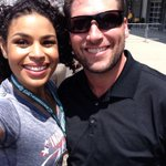 RT @matthudson1487: @JordinSparks just took my phone and snapped a sweet selfie!