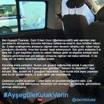 Bir kadın haykırıyor: Beni öldürmesine izin vermeyin! #AyşegüleKulakVerin http://t.co/bFfP0ekMUM