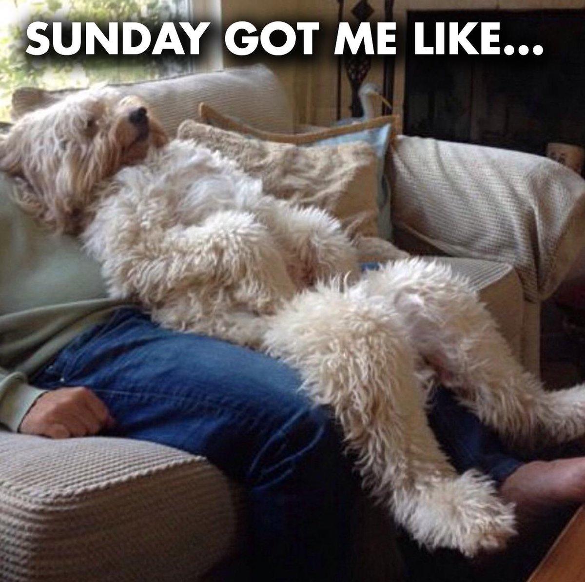 Sunday got me like…